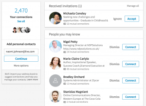 How to find connections you've recently added on LinkedIn