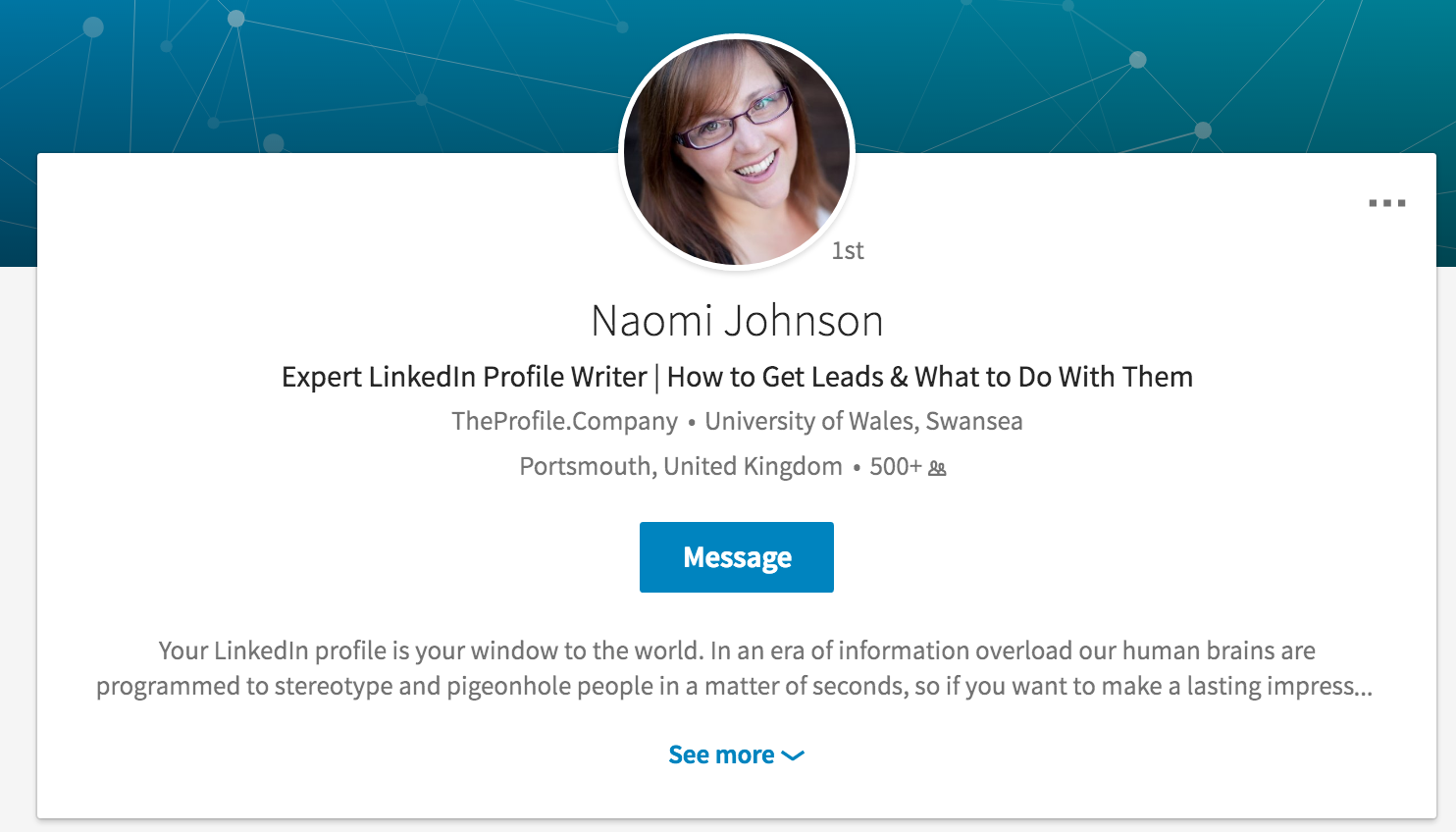 How to change your place of education at the top of your LinkedIn profile