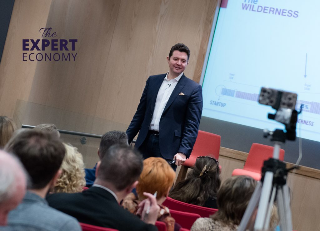 Daniel Priestley at The Expert Economy by Naomi Johnson