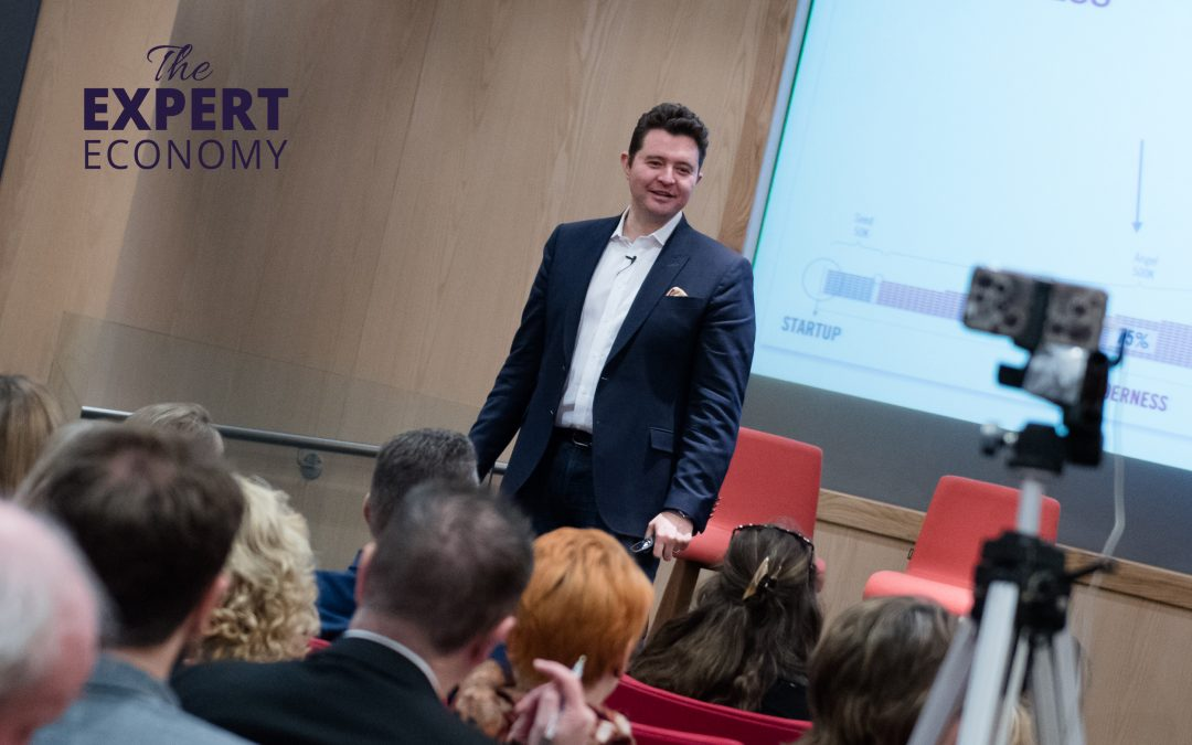 Daniel Priestley speaks at launch of The Expert Economy