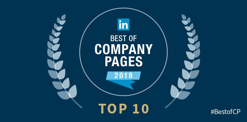 10 LinkedIn Company Page Winners