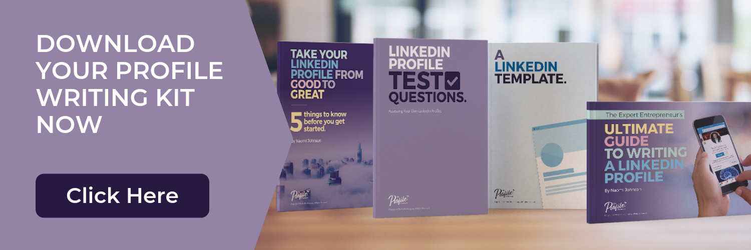 Use our free LinkedIn Profile Banner Template